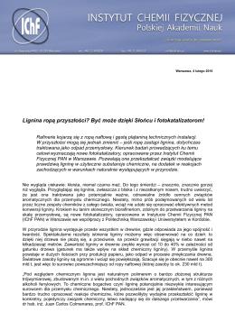 Instytut Chemii Fizycznej Polskiej Akademii Nauk