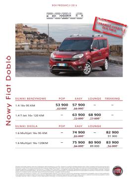 Cennik 2016 - Fiat - katalogi i cenniki