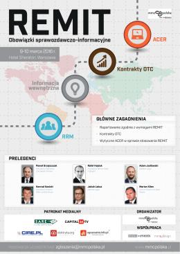 Obowiązki sprawozdawczo-informacyjne Kontrakty