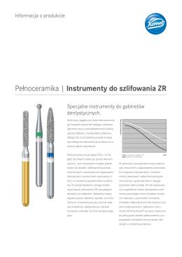Pełnoceramika | Instrumenty do szlifowania ZR