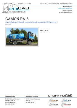 GAMON PA-6