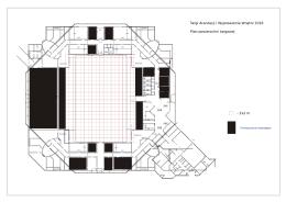 Plan hali targowej - targi