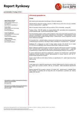 2016.02.08 Raport rynkowy