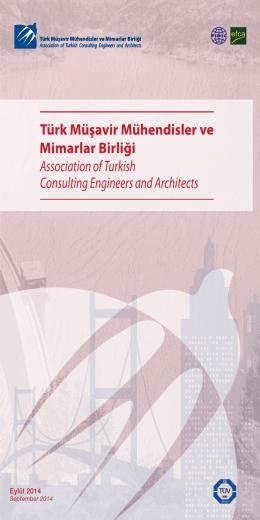 Üye Broşürü - Türk Müşavir Mühendisler ve Mimarlar Birliği