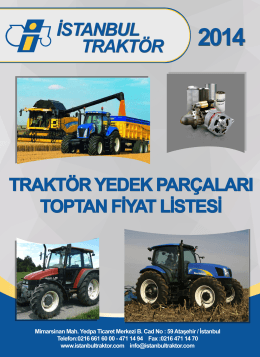 istanbul traktör makina - fiat