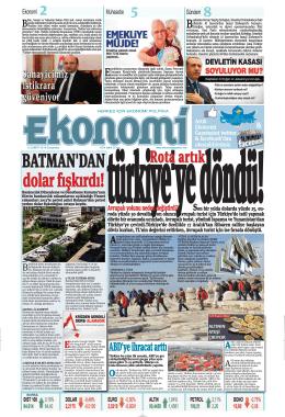 12 şubat 2014 - Ekonomi Gazetesi