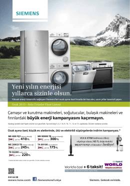1.115,00TL - Siemens Ev Aletleri