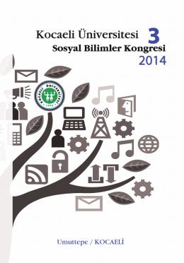 Sosyal Bilimler Kongresi 3 - Kocaeli Üniversitesi Sosyal Bilimler