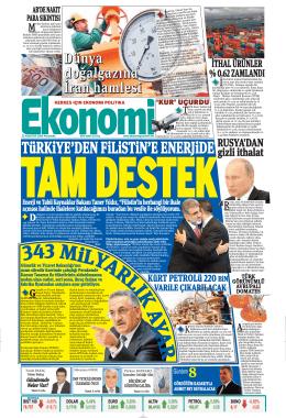 21 ağustos 2014 - Ekonomi Gazetesi
