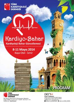 Kardiyo-Bahar Kardiyoloji Bahar Güncellemesi Toplantı Programı