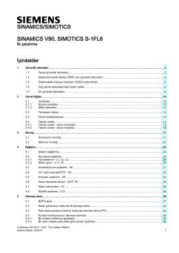 sınamıcs v90, sımotıcs s-1fl6 - Siemens Industry Online Support