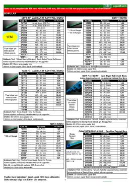 (aquatherm fiyat listesi 01.01.2013 Excel son 1.bask