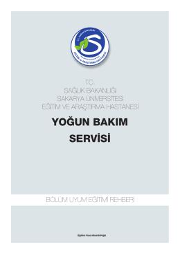 Yoðun Bakým - Sakarya Eğitim ve Araştırma Hastanesi