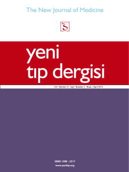 Cilt / Volume:31 Sayı / Number:2 Nisan / April 2014