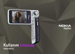 Nokia N93i Cihazınız