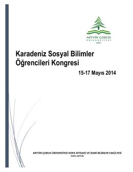 Karadeniz Sosyal Bilimler Öğrencileri Kongresi