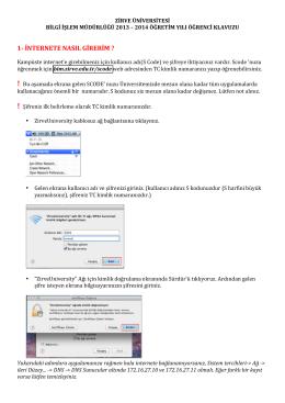 1-‐ internete nasıl girerim - Mac OS X Server