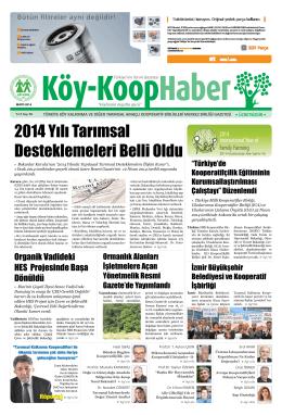 2014 Yılı Tarımsal Desteklemeleri Belli Oldu - Köy