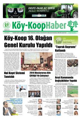 """Hal Kayıt Sistemi Tanıtıldı """"Toprak Bayramı"""" Kutlandı - Köy"""