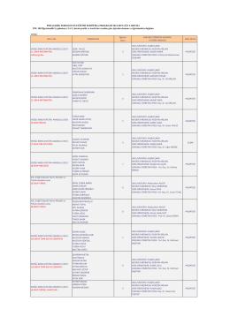 PEDAGOJİK FORMASYON EĞİTİMİ SERTİFİKA PROGRAMI 2014