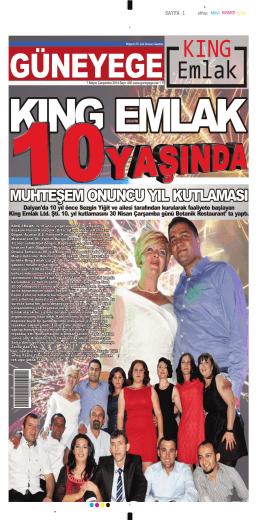 07 Mayıs 2014 - Güney Ege Gazetesi