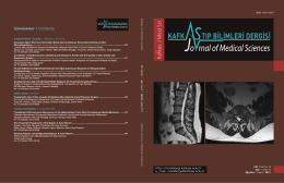 Kafkas J M ed Sci