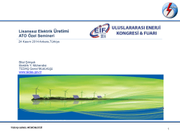 TEDAŞ - Bartın Üniversitesi Yenilenebilir Enerji uygulama ve