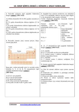 İndir (PDF, 757KB) - Kimya Ders Notları