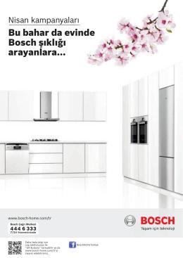 Bu bahar da evinde Bosch şıklığı arayanlara