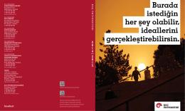 Tanıtım Kitapçığı - Koç Üniversitesi