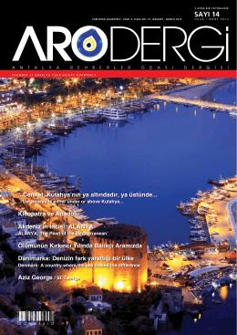 Sayı 14 - Antalya Rehberler Odası