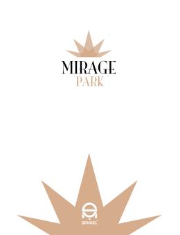 Mirage Park Residence broşürünü indirmek için Tıklayın