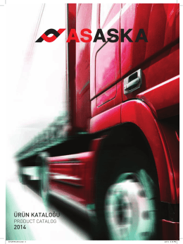 ASAS-KA 2014 Katalog (Türkçe - İngilizce) - 11,46