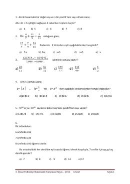 + − + + a) b) c) d ) e)