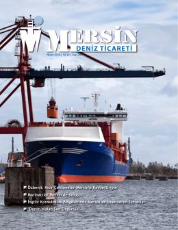 Deniz Ticareti Dergisi Nisan 2014 Sayısı