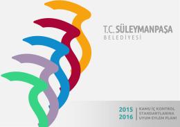 2015-2016 yılı iç kontrol eylem planı