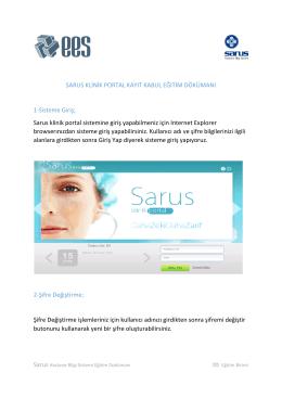 Klinik Portal Kayıt Kabul