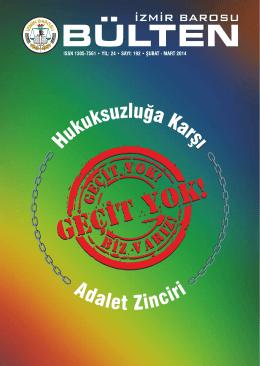 Sayı 192 - İzmir Barosu