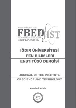 Eylül 2014 - Iğdır Üniversitesi
