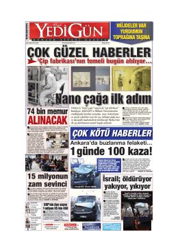 BUL - Yedigün Gazetesi