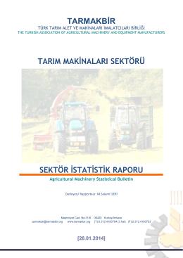 tarmakbir tarım makinaları sektörü sektör istatistik raporu