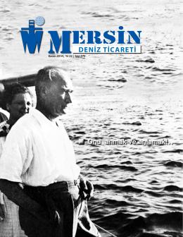 Deniz Ticareti Dergisi Kasım 2014 Sayısı