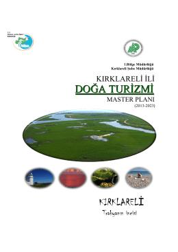 Kırklareli Doğa Turizmi Master Planı
