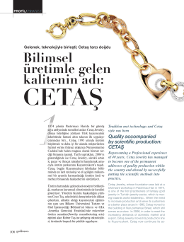download the news - Cetas Kuyumculuk