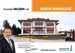 MERVE MAHALLESİ - Sancaktepe Belediyesi
