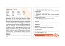 Salutem Forte - Ornado Medicine