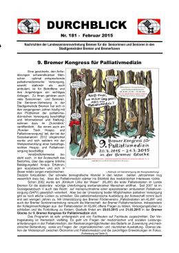 """Durchblick"" Nr. 181"