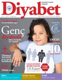 diyabetli - Türk Diabet Cemiyeti