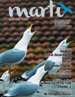Temmuz - Martı Dergisi