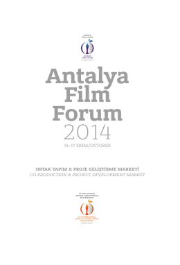Antalya Film Forum 2014 - Altın Portakal Film Festivali